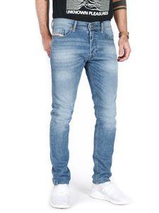 Diesel Slim Tapered Fit Jeans - Tepphar 0842H, Größe:W33, Schrittlänge:L32