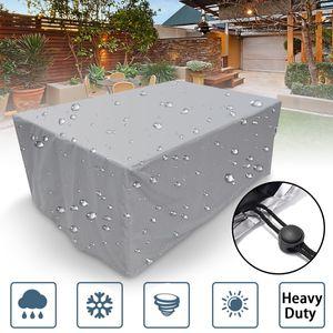 Wehncke Schutzhülle Gartenmöbel-Schutzhüllen - Abdeckung für Gartentisch - 242x162x100cm