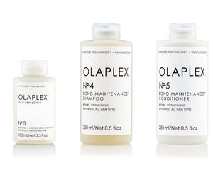 Olaplex Set - Olaplex Bond Maintenance Shampoo No 4 (250ml) + Olaplex Bond Maintenance Conditioner No 5 (250ml) + Olaplex Hair Perfector No 3 (100ml)
