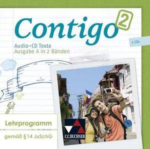 ContiGo! A / ContiGo! A Audio-CD Texte 2: Unterrichtswerk für Spanisch in 2 Bänden / Unterrichtswerk für Spanisch in 2 Bänden
