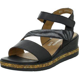 Remonte Damen Sandale in Schwarz, Größe 41