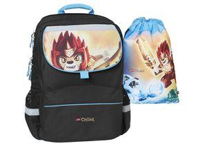 CHIMA FIRE&ICE - Starter PLUS Schoolbag Set