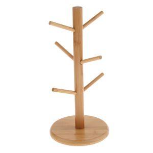 Brezenständer Tassenständer Tassenbaum Tassenhalter Schmuckhalter aus Holz
