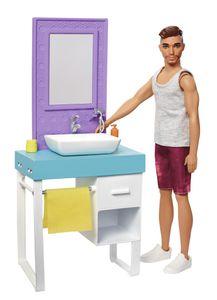 Barbie Ken Puppe Rasierspaß Spielset