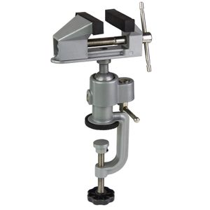 Tischschraubstock Schraubstock Präzisionsschraubstock 75 mm drehbar Kugelgelenk