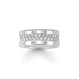 Thomas Sabo Ring TR1939-051-14 Sterling Silber : 56