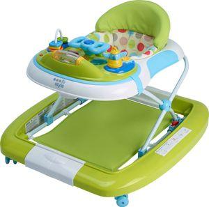 ib style® 2 in 1 LITTLE DRIVER Babywalker Gehfrei mit Schaukelfunktion Babywalker Lauflernwagen Laufhilfe Babywippe GRÜN