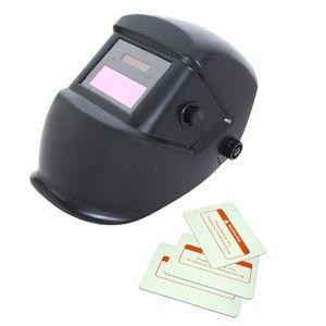 Matte Black Solar Automatische Verdunkelung Schweißhelm Arc Tig Mig Schweißer Maske / Matt-schwarz wie beschrieben