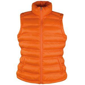 Result Ice Bird Damen Steppweste / Weste BC2725 (M) (Orange)