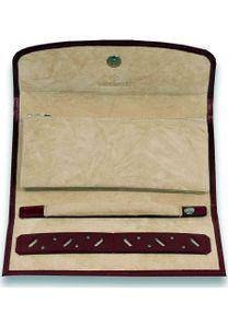 WINDROSE Merino Jewellery Roll Red