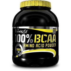 BioTech USA 100 % BCAA Pulver, 400 g Dose