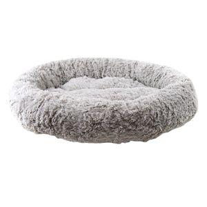 Rundes Haustier-Schlafbett-Haustier-gemütliches Bequemes Bett-Nest Für Katzen-Hundegrau 55cm Grau Modern Bett