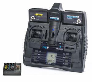 Carson RC Fernsteuerung Reflex Stick Pro 3.1 2.4GHz LCD 4 Kanal Sender Set mit Empfänger