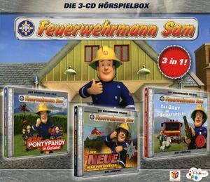 Feuerwehrmann Sam - Feuerwehrmann Sam-Hörspiel Box 1 - CD