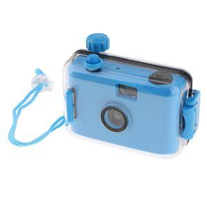 Blau Unterwasserkamera Wasserdichte Kamera Filmkamera wiederverwendbar