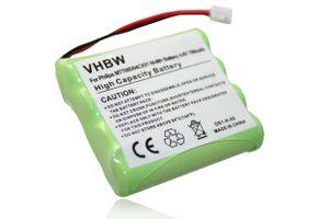 vhbw Akku kompatibel mit Philips Avent SCD468, SCD481, SCD486, SBC-EB4870 A1507, SBC-EB4880 A1507 Babyphone - Ersatz für MT700D04CX51 (700mAh, 4.8V)