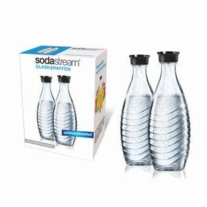 SodaStream Glaskaraffen 0,6 Liter im  2er-Pack