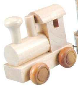 Bino Buchstaben Geburtstagszug - Lokomotive für Geburtstagszug