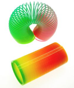 1 x Regenbogenspirale Springspirale Spirale ca. 6,5x3,5cm