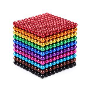 5mm 1000pcs Farbe magnetischer Ball Buck Ball magnetischer Ball magnetischer Zauberwürfel