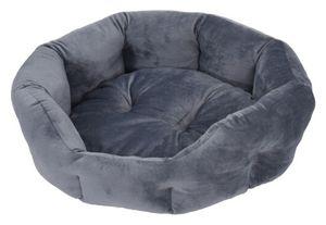 hundekorb 51 x 48 x 21 cm Polyester grau
