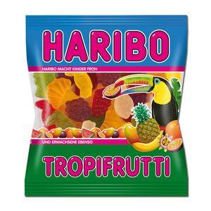 Haribo Tropi Frutti Fruchtgummi exotische tropische Geschacksrichtungen 100g