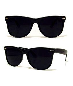 Schwarz WAYFARE Sonnenbrille UV400 UNISEX RETRO 80er Geek Schattierungen Flieger klassische (Black, Tinted)
