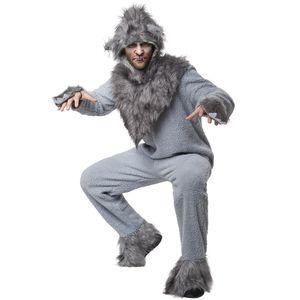 dressforfun Unisexkostüm Wilder Wolf - M