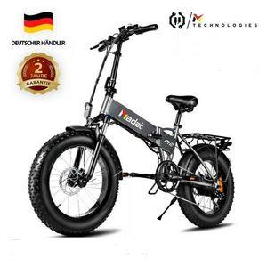 Faltbares Elektrofahrrad E-bike E-Faltrad 500W Motor 12,8 Ah Akku 20 Zoll
