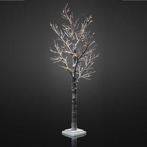 LED-Baum mit Schnee 70cm 30 BS warmweiss innen