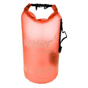 10l Wasserdichte Schwimmsack Rafting Kajak Boot Kanu Rucksack Farbe Orange