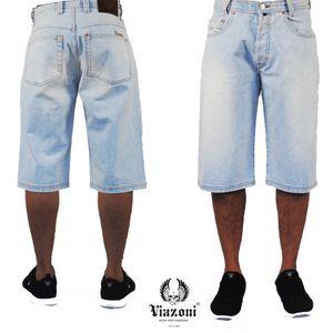 Viazoni Jeans Shorts Ice Blue, Farbe:ice blue, Größe:W 29