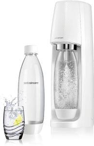 Sodastream Wassersprudler EASY  incl. PET-Flasche 1 l und 1 Co²-Kohlensäurezylinder, Weiß