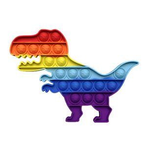 Dinosaurier Push Pop It Pop Blase Sensorisches Zappeln Spielzeug Autismus Stressabbau Kinder Lernspielzeug