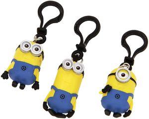Minions - 3D Schlüsselanhänger Stuart, Dave, Tim 5cm