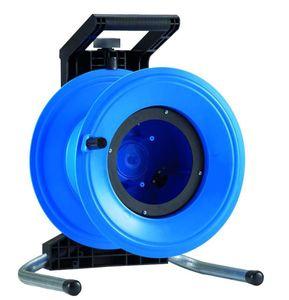 HEDI G3000 Kunststoff-Kabeltrommel Professional Plus 320, leer, blau ****