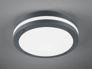 Trio LED Deckenleuchte Piave in Anthrazit und Weiß 12w 1000lm