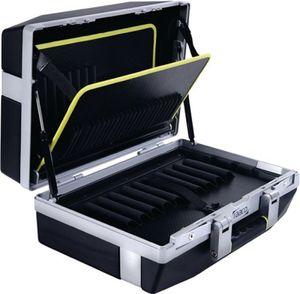 raaco Werkzeugkoffer XL-79 B485xT215xH410mm Tragfähigkeit 35kg 79 Einsteckfächer 1Dokum.-fach - 139533