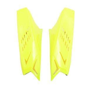 2x Motorradhelm Hörner Gelb Helm Ohren Dekorations, Leichter Einbau und Abbau