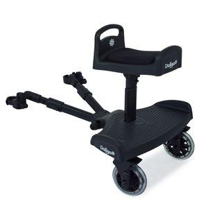 Daliya ® Stepiyo Buggy & Kinderwagen Board mit Sitz Universal Glider Anhänger Geschwisterboard