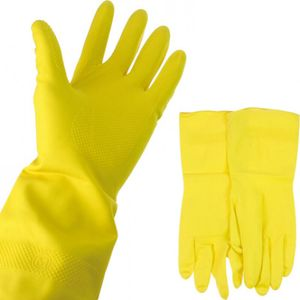 4 Paar Putzhandschuhe Haushaltshandschuhe Spülhandschuhe Gummihandschuhe in M