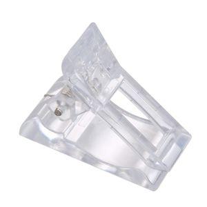 5Pcs Transparent Nail Gel Quick Building Nagelspitzen Clips
