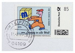 FDC mit 58-Cent-Briefmarke 'Europäer', 11.02.2015, M-ware® ID15586