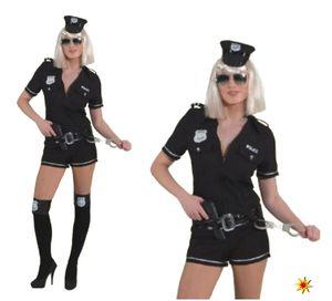 Kostüm Polizistin, Jumpsuit Police Girl, Gr. 38