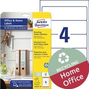 AVERY Zweckform Recycling-Ordnerrücken-Etiketten Home Office