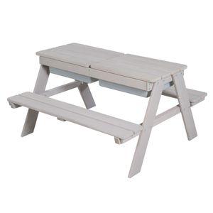 roba Kindersitzgarnitur mit Spielwannen im Tisch Outdoor Deluxe