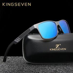 KINGSEVEN Aluminium HD Polarisierte Sonnenbrille Herren Fahren Angeln Spiegelbrillen