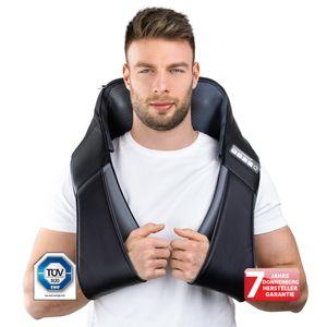 Donnerberg Klopfmassagegerät Klopfy Massagegerät für Shiatsu & Klopfmassage 4D Nackenmassagegerät zuschaltbare Infrarotwärme & pflegeleichte Ersatzbezüge