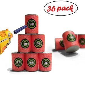 Bullet Darts EVA Soft Target für NERF N-Strike Blasters Packung mit 36 Stück ZRJ81214101