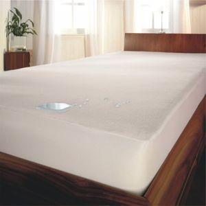 Molton Inkontinenzauflage Matratzenschutz Wasserdicht Nässeschutz Auflage, Größe:90 x 200 cm
